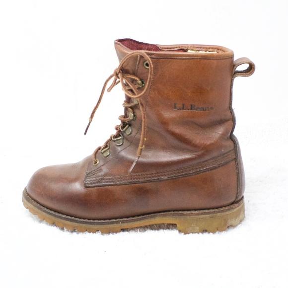 342f4cf760c LL Bean Goretex Brown Work Hiking Outdoor Boot 7.5